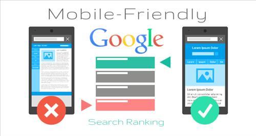 Tiêu chí xếp hạng cao nếu website thân thiện với Mobile