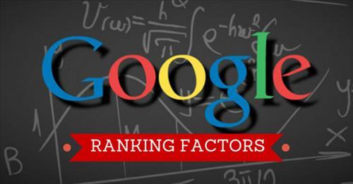 Tiêu chí xếp hạng trang web của google