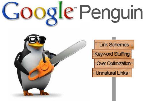 Google Penguin real time sẵn sàng trừng phạt cách xây dựng liên kết không tự nhiên