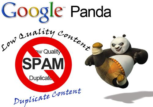 Google Panda xử phạt những trang chất lượng thấp