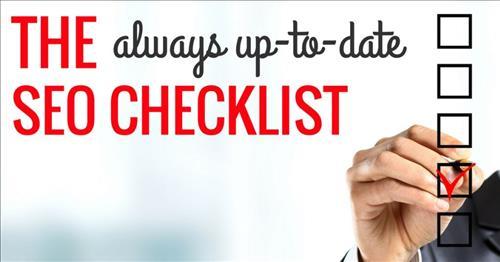 SEO Checklist cần thực hiện thường xuyên