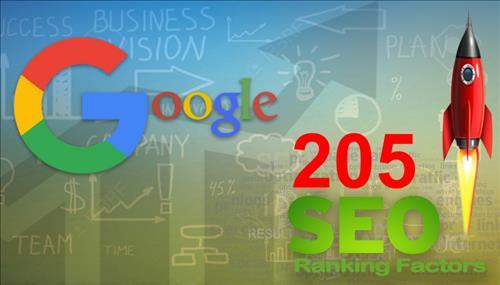 205 yếu tố xếp hạng Google