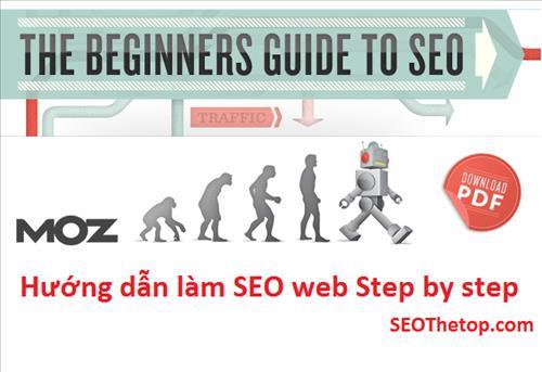 Hướng dẫn làm SEO web step by step