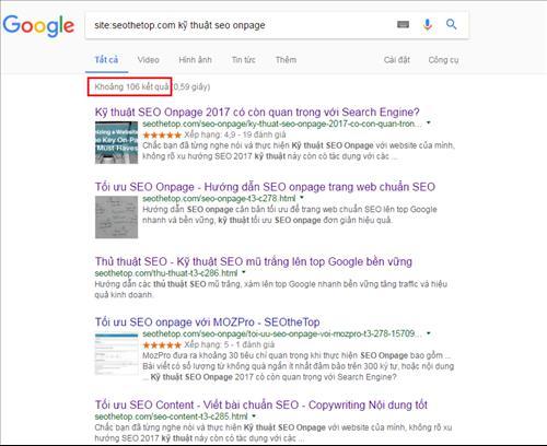 Google search: Tìm kiếm các trang liên quan qua từ khóa