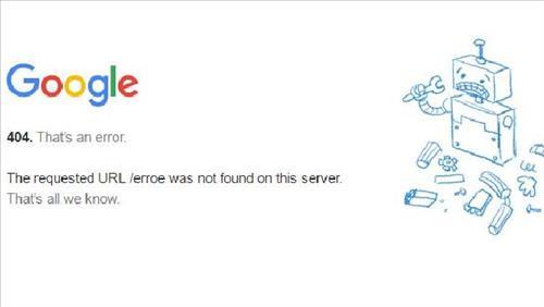 Downrank do nhiều trang lỗi 404