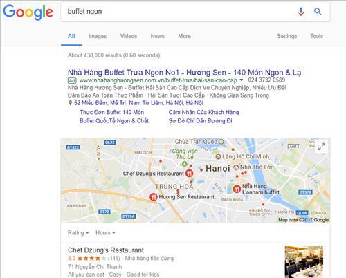 Tìm kiếm địa phương - local search