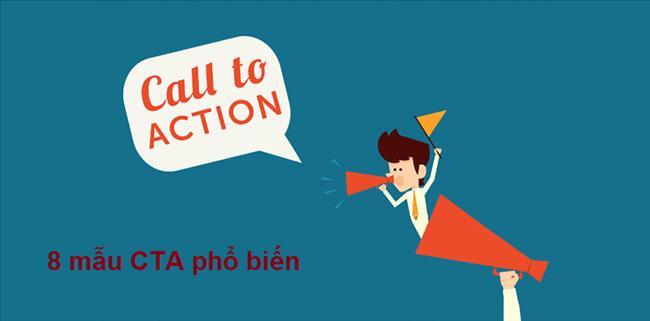 8 mẫu Call To Action hay cần có trên trang web của bạn