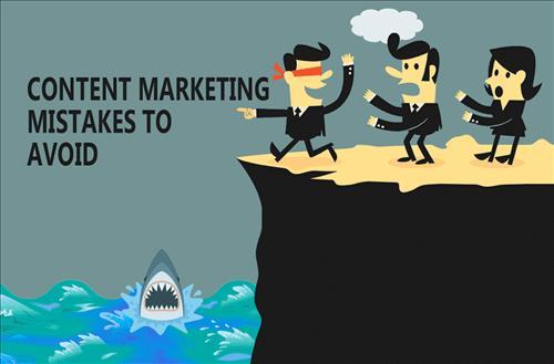 9 sai lầm trong Content Marketing cần tránh