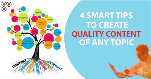 4 bí quyết tạo Content chất lượng cho các chủ đề Ngách