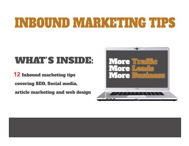 12 lời khuyên Inbound Marketing giúp xây dựng thương hiệu dẫn đầu