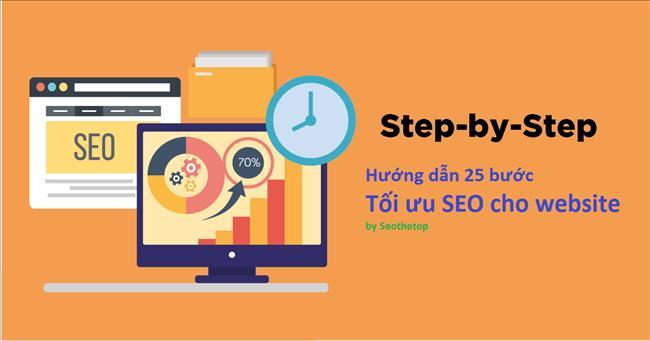 Hướng dẫn 25 bước Tối ưu SEO cho website mới hiệu quả