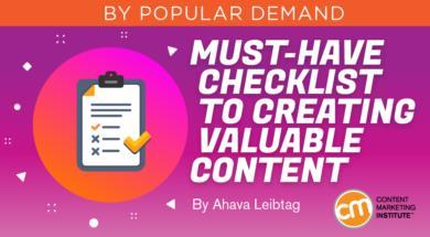 5 yếu tố không thể thiếu của một Content có giá trị