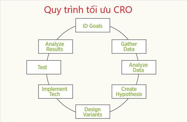 Quy trình CRO 8 bước: Đòn bẩy Tối ưu hóa Tỷ lệ Chuyển đổi để Thúc đẩy Tăng trưởng