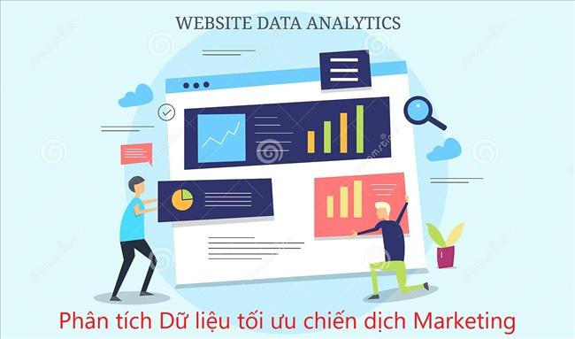 Phân tích dữ liệu website giúp tối ưu hóa chiến dịch digital marketing