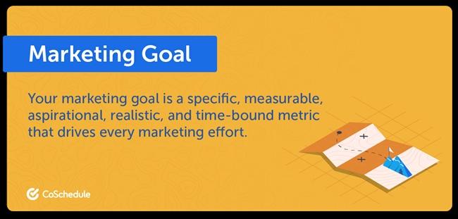 Định nghĩa về Marketing Goal