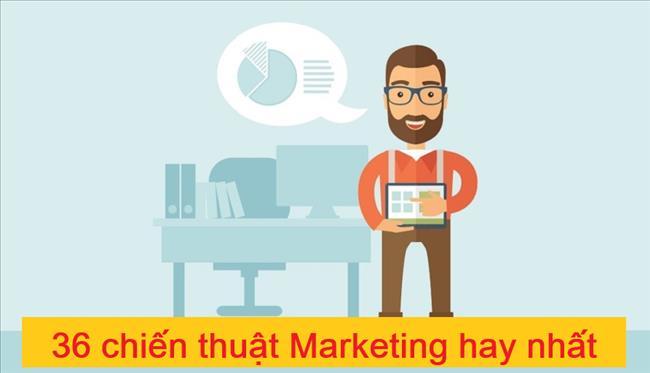 35 Chiến thuật Marketing Hoạt động hiệu quả nhất bạn nên dùng