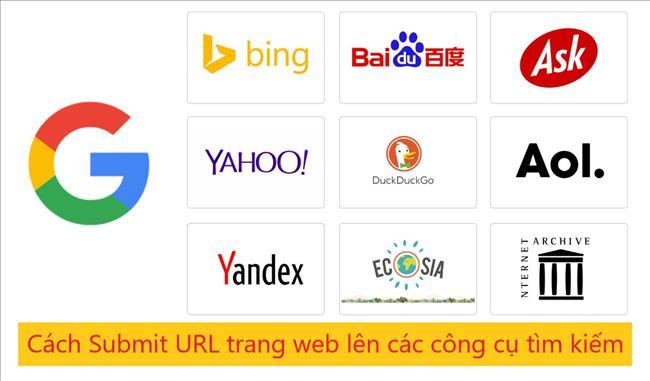 Cách Submit URL lên Google và các cộng cụ tìm kiếm khác Bing, Yahoo (Hướng dẫn từng bước)