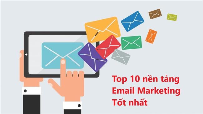 top phần mềm email marketing hàng đầu
