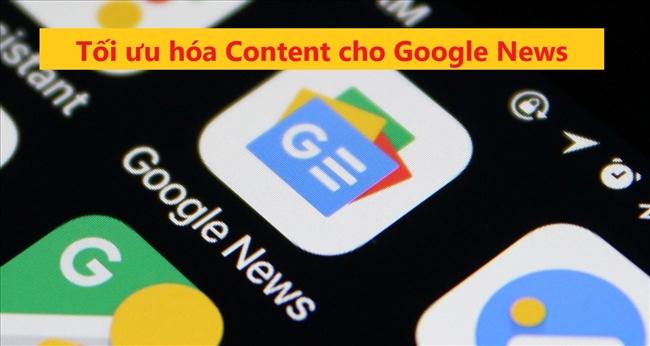 Tối ưu SEO cho Google News