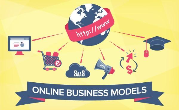 Mô hình kinh doanh trực tuyến phổ biến