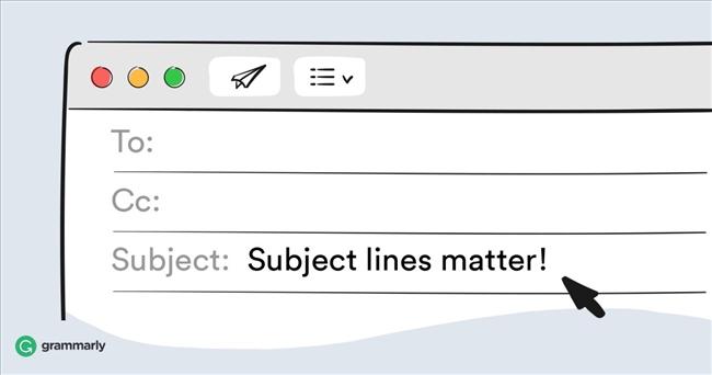 Subject line hay còn gọi là Tiêu đề email