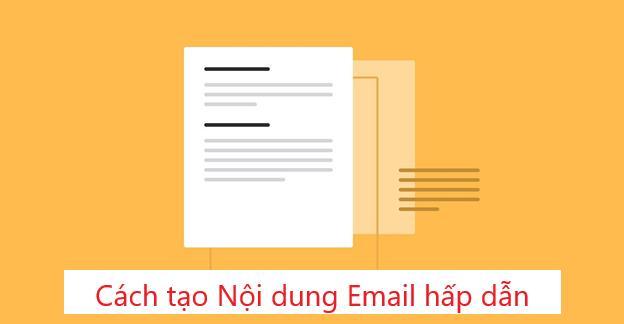 Cách viết email marketing hấp dẫn