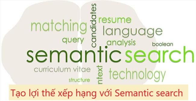 Sử dụng Semantic search để tạo lợi thế xếp hạng