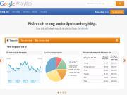 Công cụ Google Analytics phân tích báo cáo truy cập website
