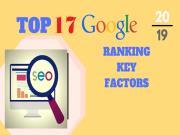 Ranking Signals 2019: Top 17 Tín hiệu Xếp hạng bạn Cần tối ưu