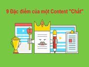 9 Đặc điểm của Content tuyệt vời thúc đẩy chuyển đổi