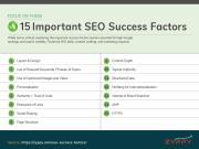 15 yếu tố SEO tác động tới Xếp hạng và khả năng Hiển thị