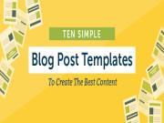 Post Template:  Mẫu phác thảo bài viết trên blog/website thân thiện SEO