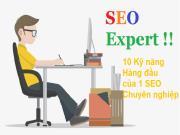10 kỹ năng thiết yếu của một SEO chuyên nghiệp