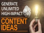 Cách tạo hàng 100 ý tưởng chủ đề viết Content nhanh chóng