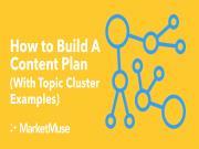 Cách xây dựng kế hoạch Content cho Topic cluster (có ví dụ)