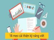 18 cách dễ dàng để cải thiện kỹ năng viết bài đăng blog của bạn