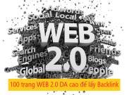 Cách để kiếm được Backlink Dofollow miễn phí từ 100 trang Web 2.0, DA cao