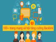 124 trang mạng xã hội giúp tăng cường backlink & thúc đẩy lưu lượng truy cập