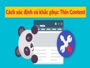 Thin Content là gì? Cách xác định và khắc phục Nội dung Mỏng để tránh hình phạt Google